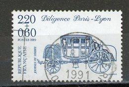 FRANCE - JOURNÉE DU TIMBRE - N° Yvert 2577 Obli.  RONDE DE BOURG EN BRESSE 1991 - Usados