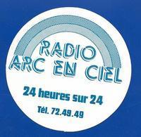 A.C. RADIO ARC EN CIEL 94 FM - Stickers