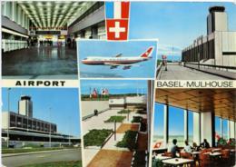 BASEL-MULHOUSE   Airport  Flughafen Aeroport - Aerodromi