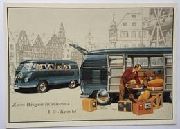 (859) Volkswagen - P.A.R.C.-Archiv-Edition -  Zwei Wagen In Einem - VW-Combi - Publicité