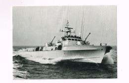 Deutsche Bundeswehr.Schnellboot In Voller Fahrt. - Manöver