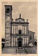 "09376 ""(PV) NICORVO - CHIESA PAROCCHIALE""    CART  SPED 1955 - Pavia"