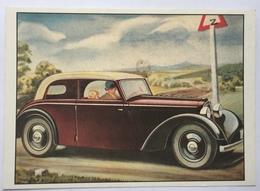 (860) DKW-Meisterklasse-Cabrio - P.A.R.C.-Archiv-Edition - Z Verkeersbord. - Publicité
