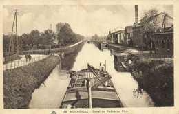 MULHOUSE  Canal Du Rhone Au Rhin Peniche RV - Mulhouse