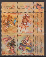 2004 San Marino Christmas Noel Navidad Complete Block Of 4  MNH  **BELOW FACE VALUE *** - Neufs
