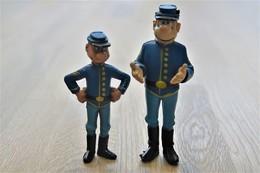 Vintage FIGURE : De Blauwbloezen / Les Tuniques Bleues - Dupuis -  RaRe - 1996 - Figuur - Figurines