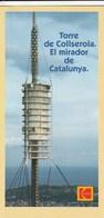 TORRE DE COLLSEROLA - EL MIRDOR DE CATALNYA - Catalán - Otros