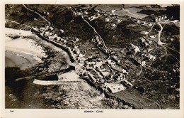 Unused  Vintage Overland Views RP Aerial View Of Sennen Cove - Altri