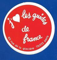 A.C. J'aime Les Guides De France - Stickers