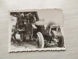 WWII Foto Wehrmacht Soldaten, PANZER TANK 1 WK Photo Kanone - 1939-45