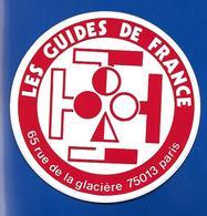 A.C. LES GUIDES De FRANCE Paris - Stickers