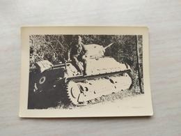 WWII Foto Wehrmacht Soldaten PAMZER FRANKREICH - 1939-45