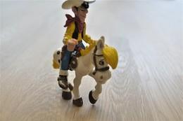 Vintage FIGURE : Schleich Lucky Luke And Joli Jumper - Morris Dargaud - Dupuis -  RaRe - 1984 - Figuur - Figurines