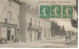 Alb1/    16   Ruffec    Avenue De La Gare    (animations) - Ruffec
