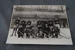 Ancienne Grande Photo Originale Hockey Sur Glace,C S H B ,24 Cm. / 18 Cm. - Sports