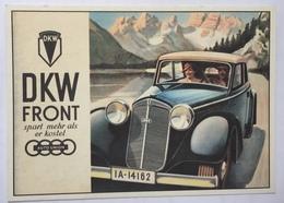 (864) DKW-Front Spart Mehr Als Er Kostet -  AUTO UNION - P.A.R.C.-Archiv-Edition - Advertising