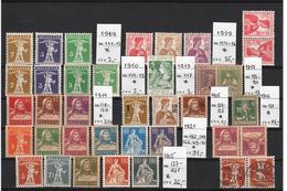 Switzerland 1909-1915, Mi: CV € 190+,* , (3i) - Briefmarken