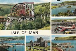 Postcard Isle Of Man Multiview PU 1972 My Ref  B13534 - Isle Of Man