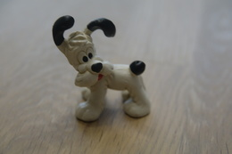 Vintage FIGURE : BULLY Asterix En Obelix Idefix - 1974 - RaRe  - Figuur - Figurines