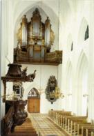 DENMARK  ODENSE  Sankt Knuds Domkirke Rokoko Orgelfacade Organ  Orgue  Organo A Canne - Danemark