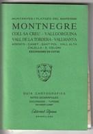 MONTNEGRE - GUIA CARTOGRAFICA - 1991 -  Usado / Utilisé - Mapas Topográficas