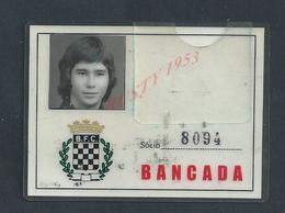 PORTUGAL FOOTBALL CARTE DE SOCIO CLUB BOAVISTA : - Cartes