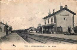 France - 18 - Henrichemont - La Gare - Henrichemont