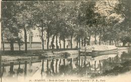 Bords Du Canal - La Nouvelle Papeterie - Roanne