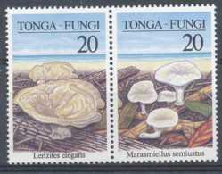 NB - [602203]TB//**/Mnh-TONGA - N° 1109/1110, Flore Champignons, Se Tenant Horizontalement - Tonga (1970-...)