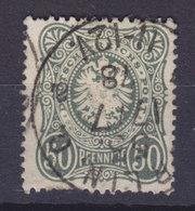Germany Deutsches Reich 1877 Mi. 38b     50 Pf(e). Reichsadler Im Oval (Dunkelgraugrün) BERLIN Cancel 1878 Cote €200,- - Deutschland