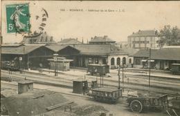 Intérieur De La Gare - Roanne
