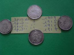 4 Pièces De 1fr - Münzen & Banknoten