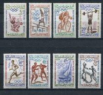 "Marokko / 1960 / Mi. 462-469 ""Olympiade"" ** (23584) - Morocco (1956-...)"