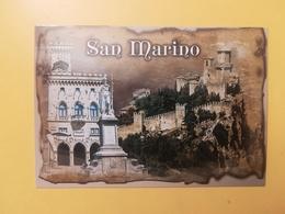 CARTOLINA POSTCARD ITALIA ITALY SAN MARINO NUOVA PANORAMA - San Marino