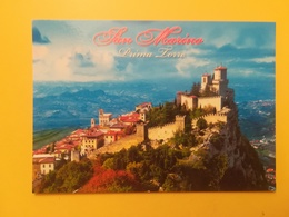 CARTOLINA POSTCARD ITALIA ITALY SAN MARINO NUOVA PANORAMA PRIMA TORRE - San Marino