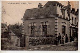 REF 412 : CPA 61 DAMIGNY Le Pont Du Fresne - Damigny
