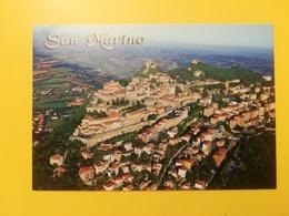 CARTOLINA POSTCARD ITALIA ITALY SAN MARINO NUOVA PANORAMA VEDUTA AEREA CENTRO STORICO - San Marino