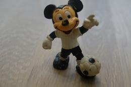 Vintage FIGURE : BULLY MICKEY MOUSE FOOTBALL Disney - 1986 - RaRe  - Figuur - Non Classés
