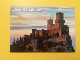 CARTOLINA POSTCARD ITALIA ITALY SAN MARINO NUOVA PANORAMA ROCCA CENTRO STORICO - San Marino