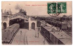 5300 - Vterzon ( 18 ) - Gare De Vierzon ( Côté Est ) - E.B./V. éd. à V. - - Vierzon