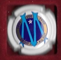 Boisson , Ville, Capsule De Champagne  Sport  FOOT - BALL  Les  100  Ans  1899 - 1999, O.M, Olympique  De  Marseille -13 - Champagne
