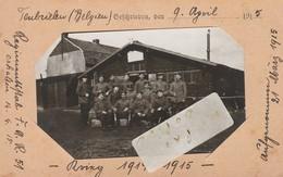 Belgique - Militaires Qui Posent En 1915 - Lieu Indiqué - Weltkrieg 1914-18