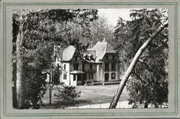 CPSM Dentelée - Environs De RAMBOUILLET (78) - GUEVILLE-GAZERAN - Aspect Du Bourg De L'Institut En 1950 - Autres Communes