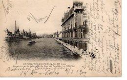 PARIS - Exposition Universelle De 1900, Perspective Sur La Seine Prise Du Pont Des Invalides, 6.6.1900 - Exhibitions