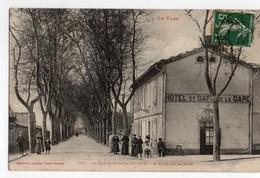 81 - Saint Sulpice La Pointe Tarn  Avenue De La Gare Et Hotel Café - Saint Sulpice