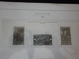 Malta Fogli Marini 1999/2000/2003/2004 Versione Europa - Album & Raccoglitori
