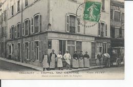 CHAUMONT   Hotel Du Centre  Veuve Petry 1913 - Chaumont