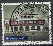 Suisse 2017 Oblitéré Used Interlaken Ost Railway Station Gare D'Interlaken Est SU - Schweiz