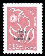 ST-PIERRE ET MIQUELON 2005 - Yv. 848 **   Faciale= 0,82 EUR - Mar. Lamouche 0,82€ Avec Surcharge  ..Réf.SPM11551 - Neufs
