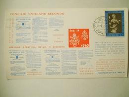 Vaticano Cartoncino Concilio Vaticano Secondo 1963 - Errors & Oddities